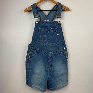 Vintage Arizona Overall Short Denim Size M